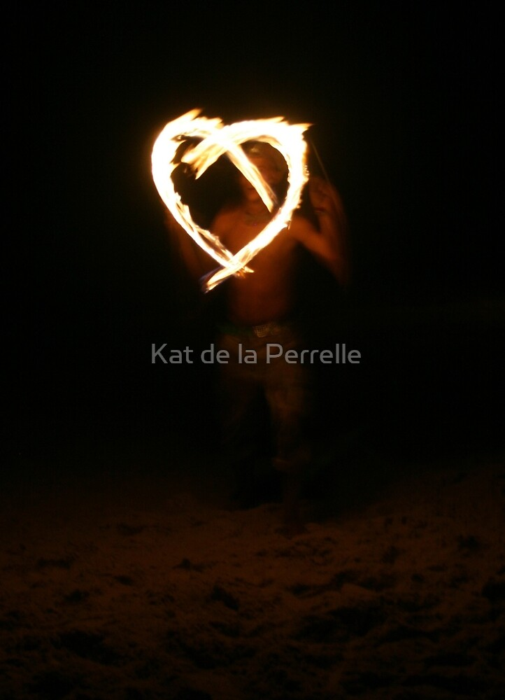 Fire Heart by Kat de la Perrelle