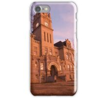 Marion County, Kansas Courthouse iPhone Case/Skin