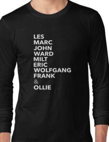 The Nine Old Men Long Sleeve T-Shirt