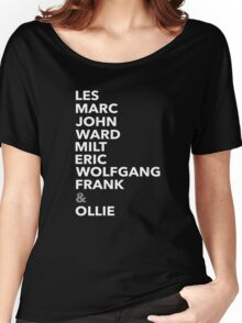 The Nine Old Men Women's Relaxed Fit T-Shirt