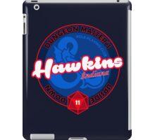 HAWKINS INDIANA DUNGEONS MASTERS iPad Case/Skin