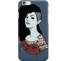 Marceline The Vampire Queen (v.2) iPhone Case/Skin