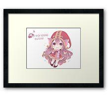 Cute Lulu Framed Print