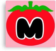 Kirby - Maxim Tomato Canvas Print