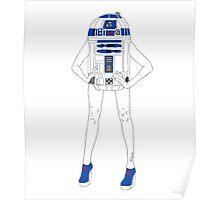 Girl Robot Poster