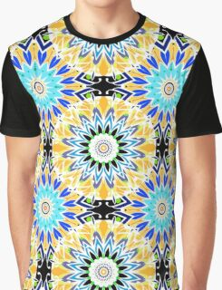 Colorful abstract Ethnic ornament .  Graphic T-Shirt