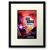 DIE HARD 3 Framed Print