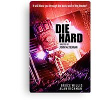DIE HARD 3 Canvas Print