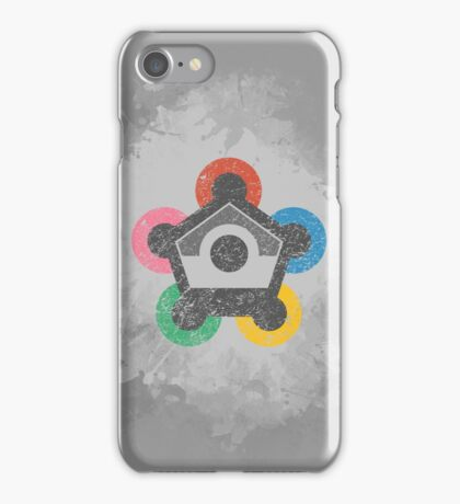 Battle Frontier (Distressed) iPhone Case/Skin