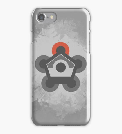 Battle Frontier Greyscale iPhone Case/Skin