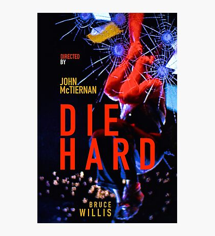 DIE HARD 4 Photographic Print
