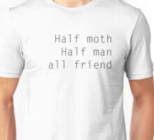 Mothman Friend white Unisex T-Shirt