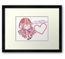 Little Lulu Framed Print