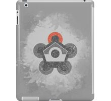 Battle Frontier Greyscale (Distressed) iPad Case/Skin