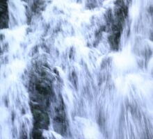Gleno Waterfall in Northern Ireland Sticker