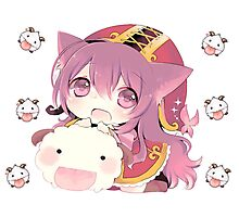 Lulu and Poro Photographic Print