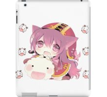 Lulu and Poro iPad Case/Skin