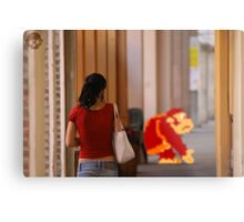 Donkey Kong Spotted Metal Print