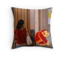 Donkey Kong Spotted Throw Pillow