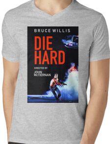 DIE HARD 5 Mens V-Neck T-Shirt