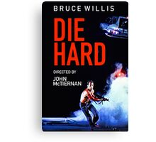 DIE HARD 5 Canvas Print