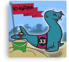No Agenda - Ep 853 - Cover Art Canvas Print