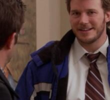 parks and recreation - i know what things are  Sticker