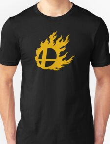 Gold Smash Ball Unisex T-Shirt