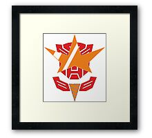 Optimus Lagann or Gurrenbot Framed Print
