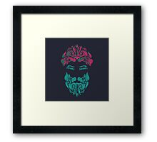 Zombies in your eyes! Framed Print