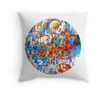 Fun Wit Numbers Throw Pillow