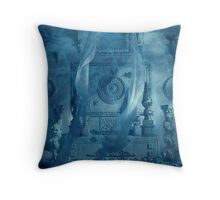 """Atlantis by Julian Wilde."" Throw Pillow"