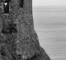 Dunluce Castle Northern Ireland Sticker