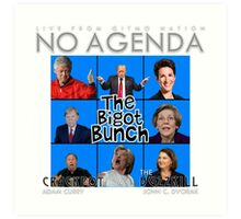 No Agenda Show - Episode 855 - 'Burkini Meanie' - Cover Art Art Print