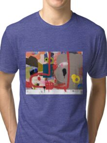 Abstract talk 003 Tri-blend T-Shirt