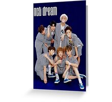 nct dream chewinggum poster Greeting Card