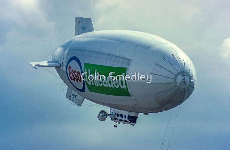Skyship 600 demonstrator G-SKSC by Colin Smedley