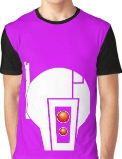 Tau | White Graphic T-Shirt