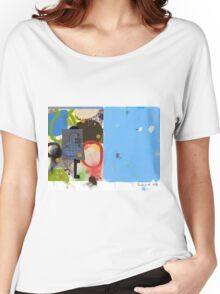 Abstract talk 003 Women's Relaxed Fit T-Shirt
