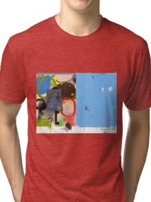 Abstract talk 003 Tri-blend T-Shirt
