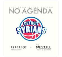 No Agenda Show - Episode 857 - Cover Art Art Print