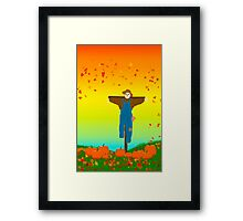Fall Is In The Air Framed Print