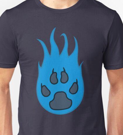 Atomic Paw Print Unisex T-Shirt