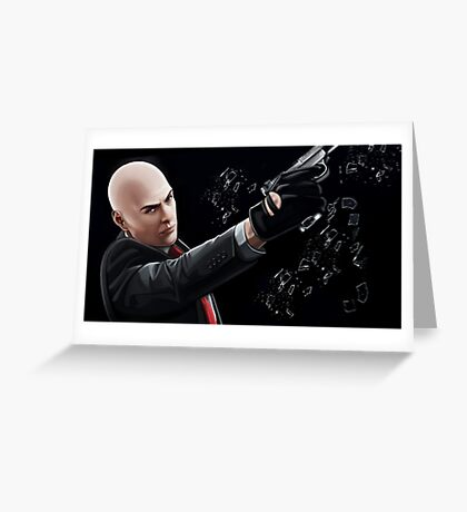 The Hitman Greeting Card