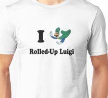 I Heart Rolled-Up Luigi Unisex T-Shirt