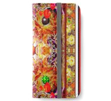 ***SEASONS WRAPPED IN A WHIRL AND TURNED INSUIDE OUT*** iPhone Wallet/Case/Skin