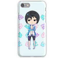Haruka Nanase + Dolphins iPhone Case/Skin