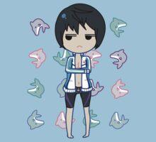 Haruka Nanase + Dolphins T-Shirt