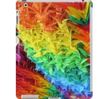 Japanese Rainbow Paper Cranes iPad Case/Skin