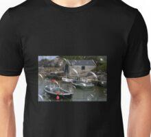 Village in Northern Ireland digitally bubbled Unisex T-Shirt
